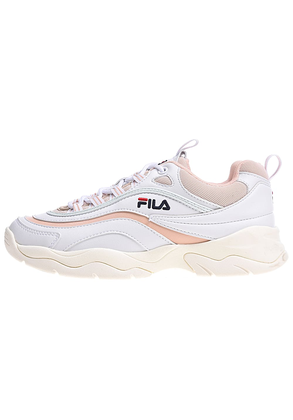 Fila Heritage Ray Low Sneakers for Women Pink Planet