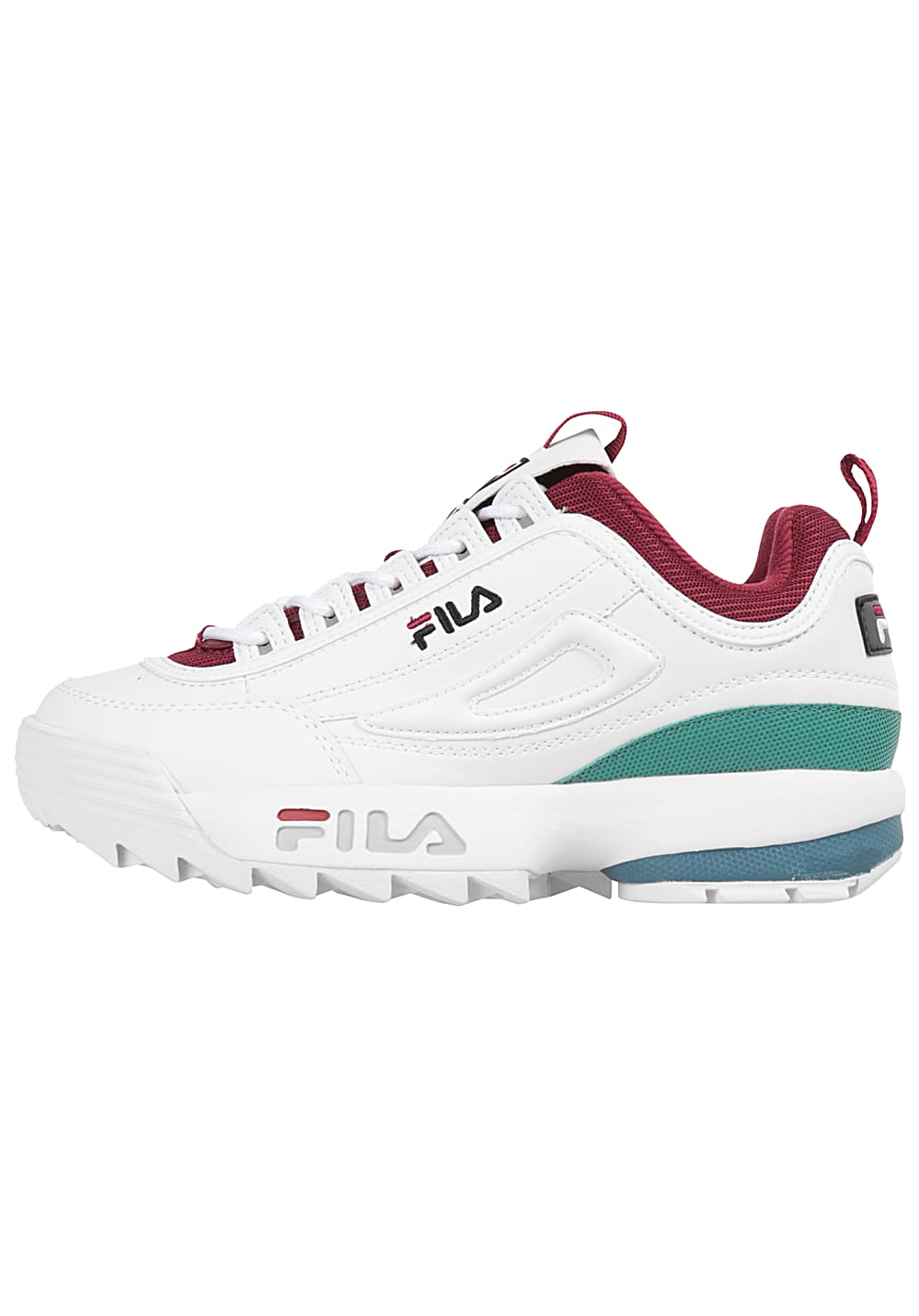 Fila Heritage Disruptor CB Low Sneakers for Women White