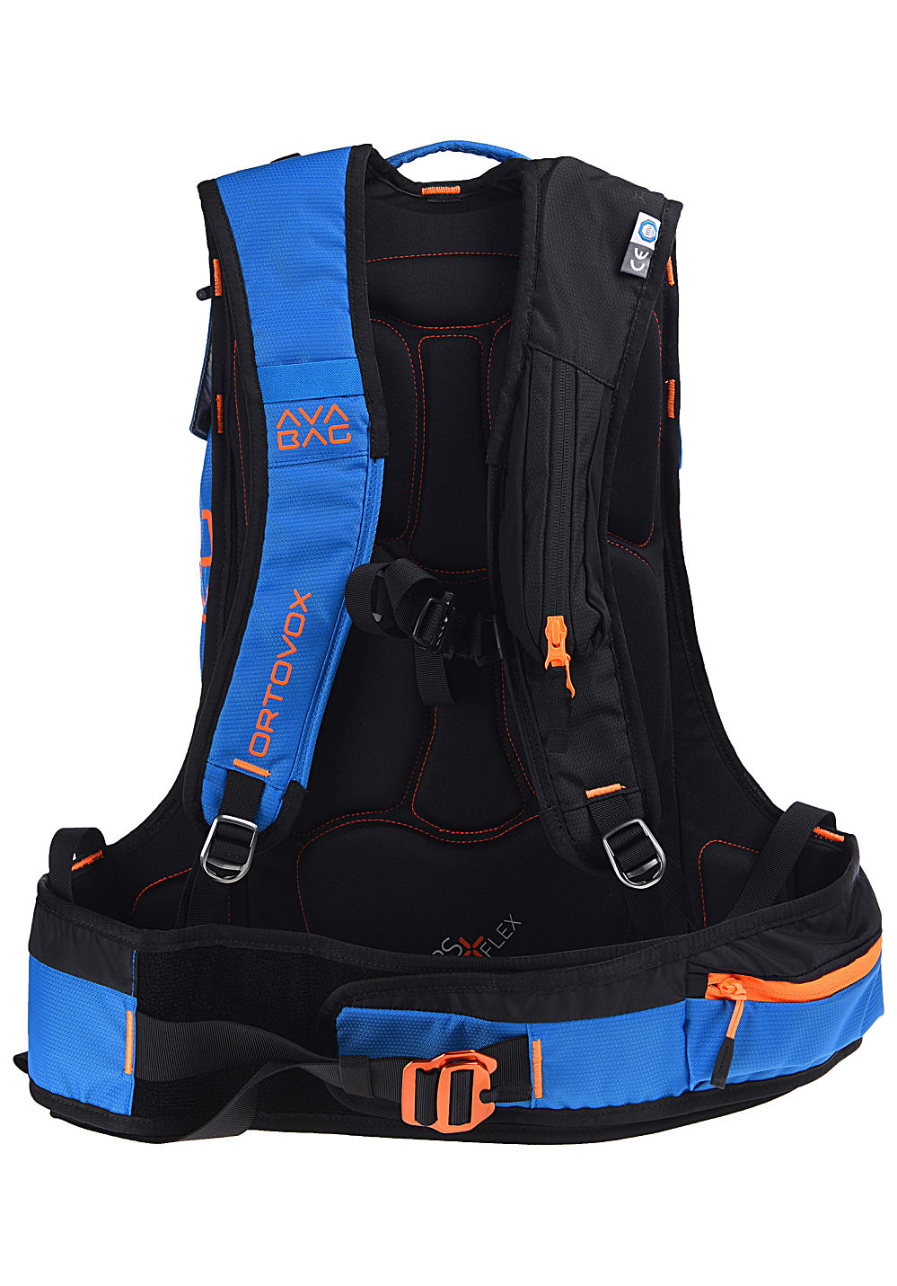 6592f8f379 ORTOVOX Free Rider 22L AVABAG Kit - Avalanche Backpack - Blue ...