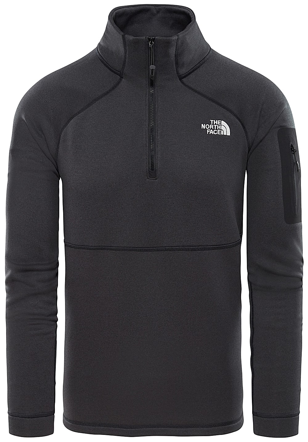 design di qualità 3252d 30598 THE NORTH FACE Impendor Power Dry 1/4 Zip - Maglione in pile per Uomo - Nero