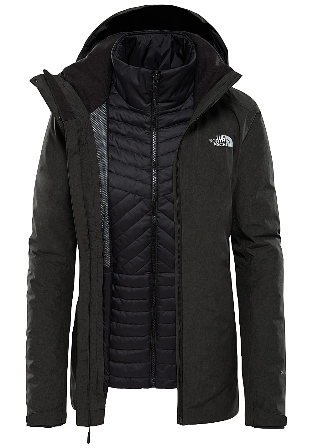 new style 1979b 0eeba THE NORTH FACE Inlux Triclimate - Jacket for Women - Black