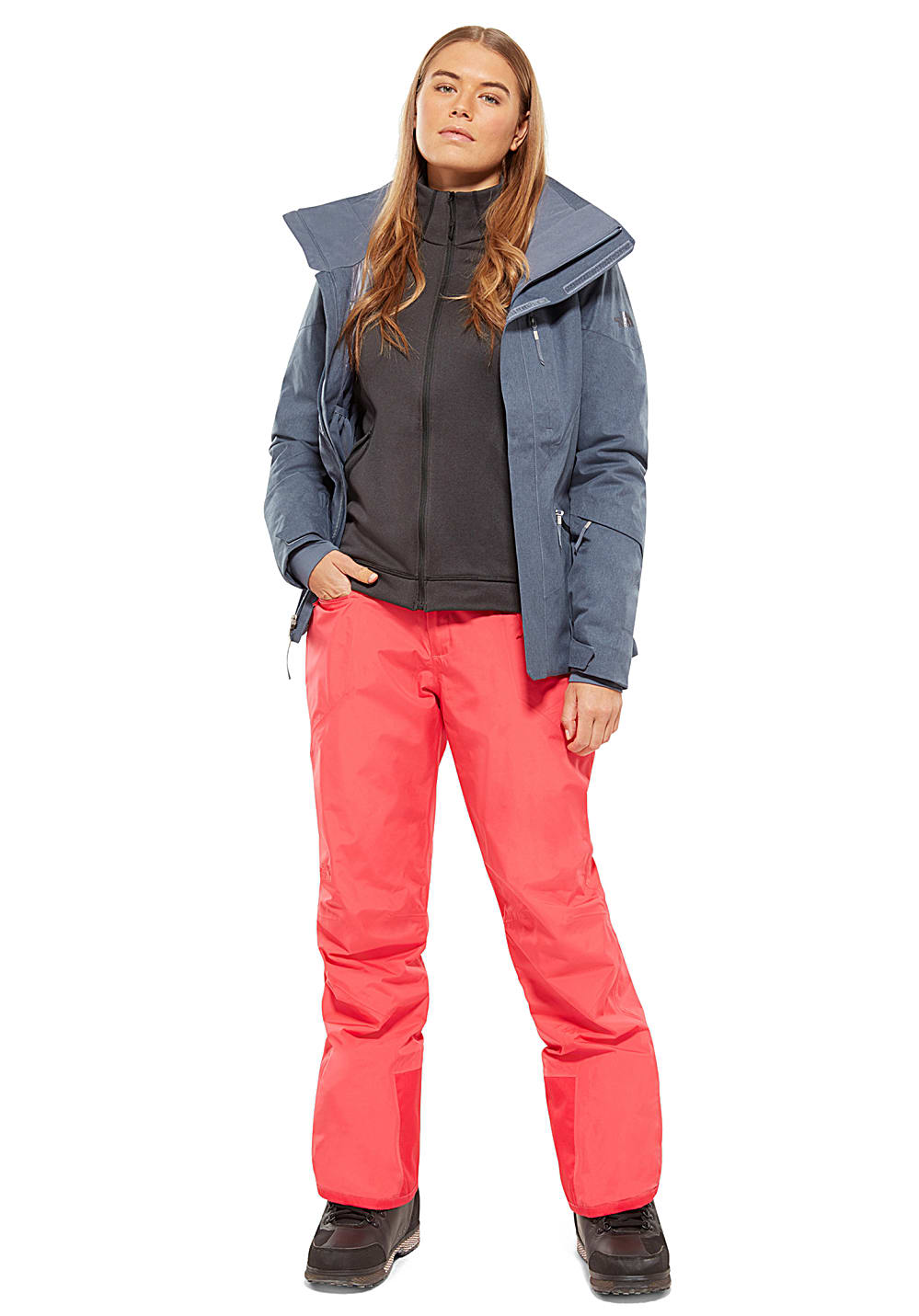 b6252feb92 ... THE NORTH FACE Lenado - Ski Jacket for Women - Grey. Back to Overview.  1  2  3. Previous. Next