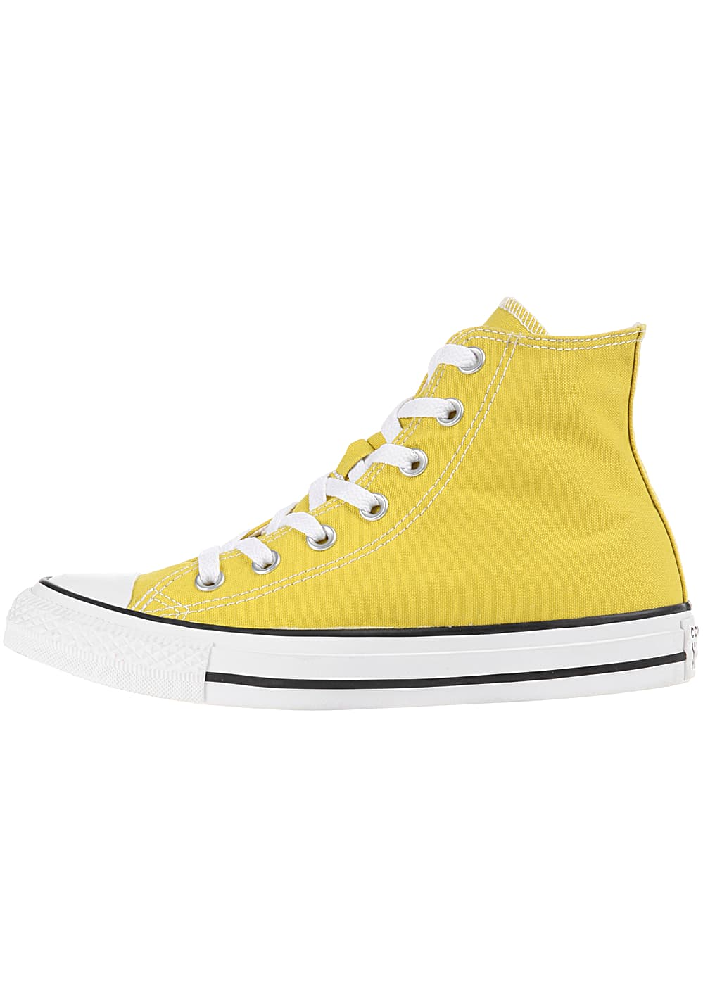 Converse Chuck Taylor All Star Hi Sneakers for Women Yellow