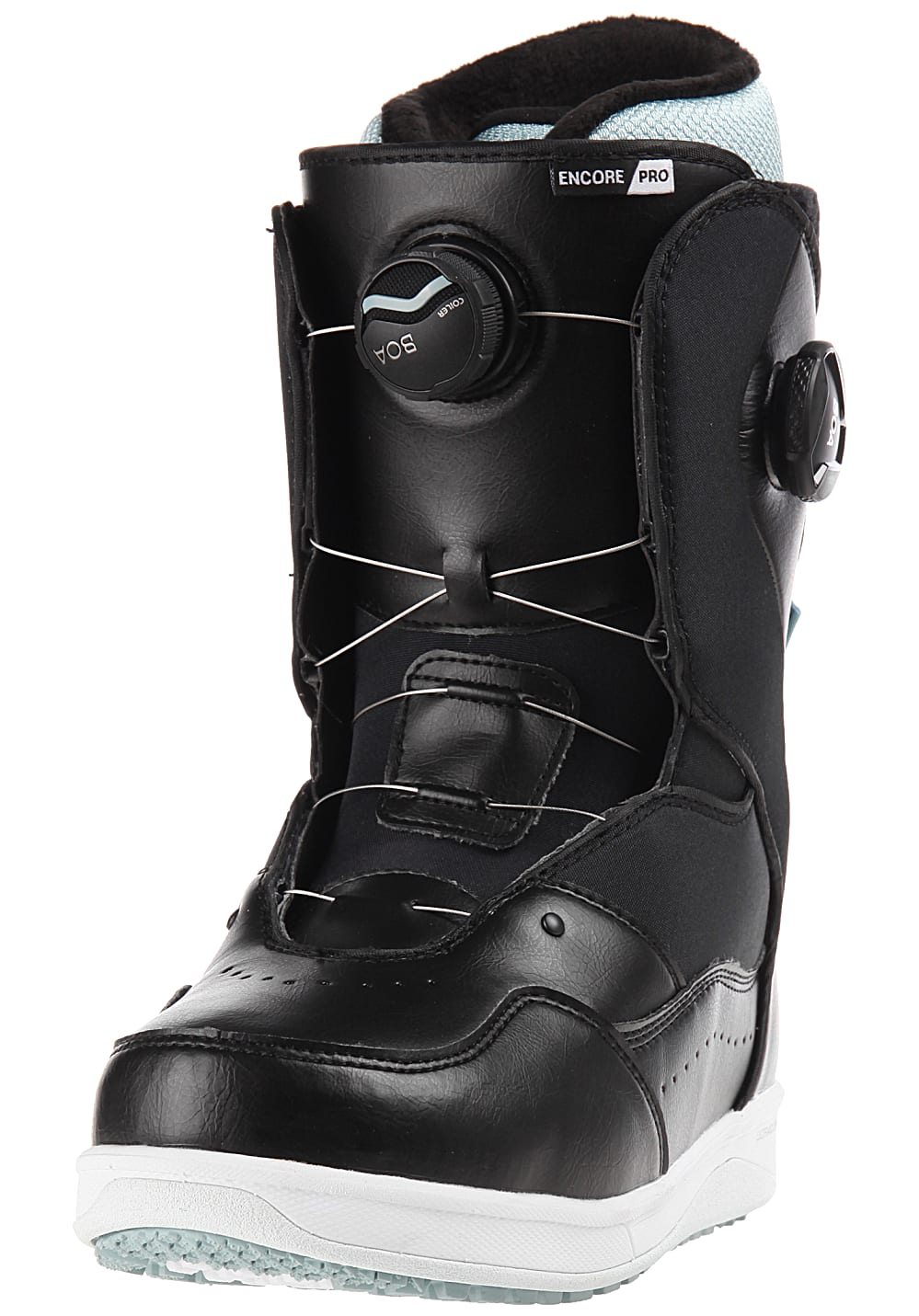 9472b2b03d Vans Encore Pro - Snowboard Boots for Women - Black - Planet Sports