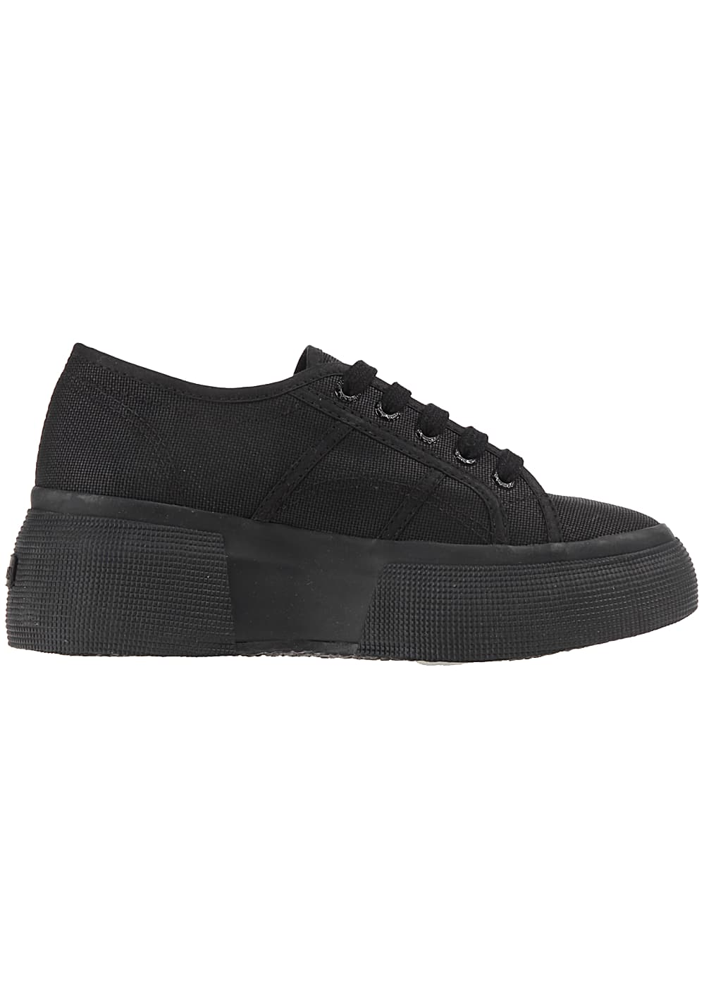 8124868a2a58 SUPERGA 2287 Cotu - Sneakers for Women - Black - Planet Sports