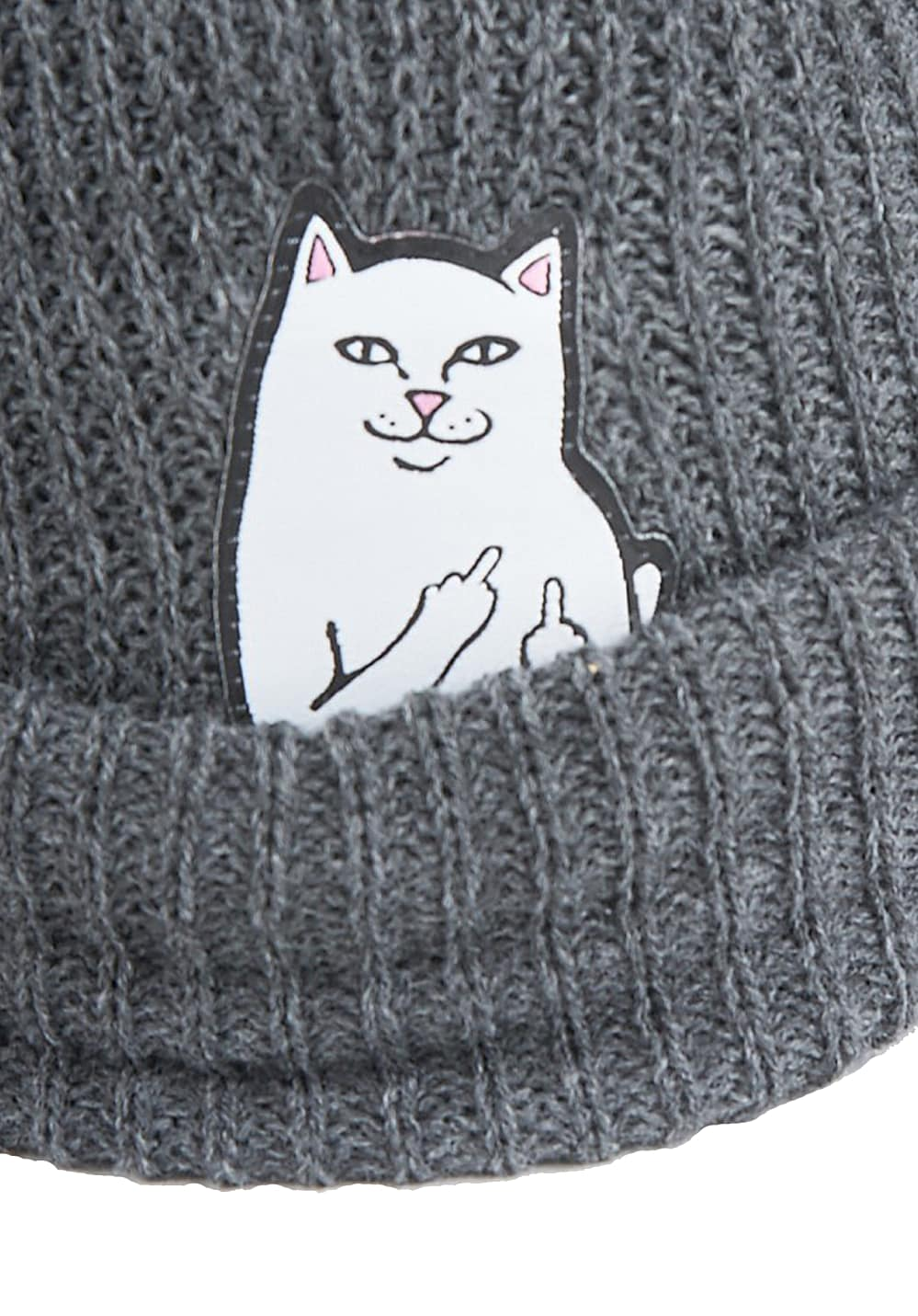7d395a5f ... Beanies · Rip N Dip Lord Nermal Rib - Beanie - Grey. Back to Overview.  1; 2. Previous