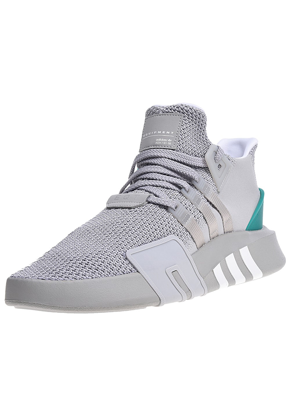 ADIDAS ORIGINALS Eqt Bask Adv Sneakers for Men Grey