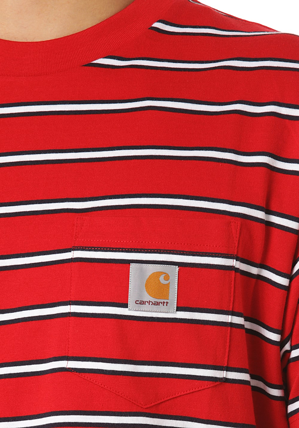 d9555ef60956 ... carhartt WIP Houston Pocket - T-Shirt for Men - Red. Back to Overview.  1  2  3. Previous. Next