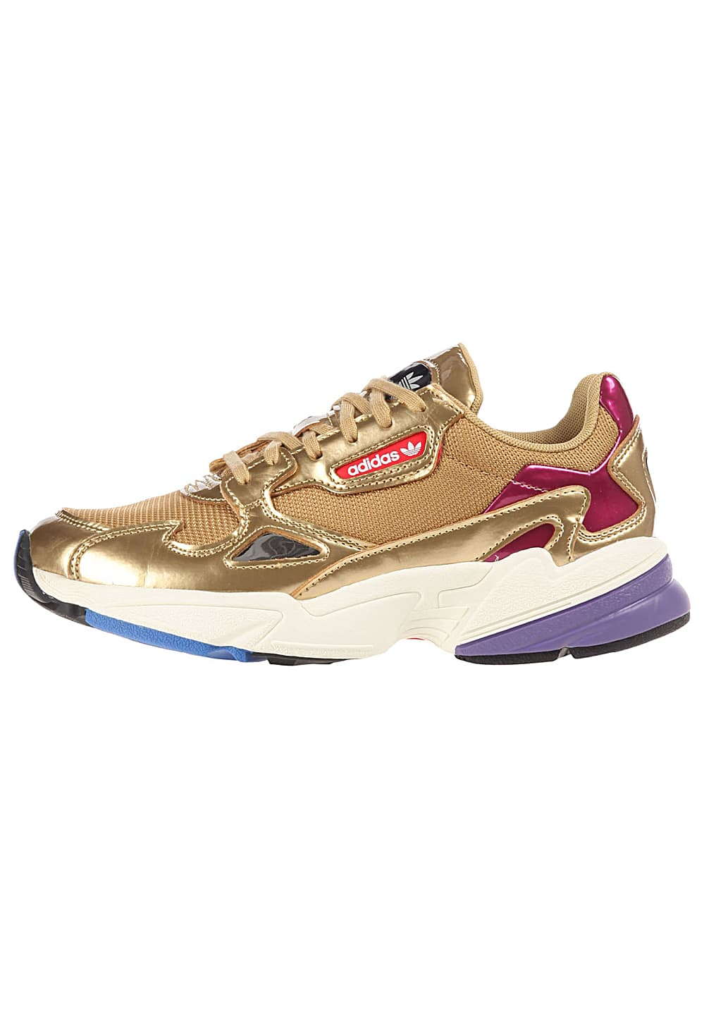 ADIDAS ORIGINALS Falcon - Sneakers voor Dames - Goud ...