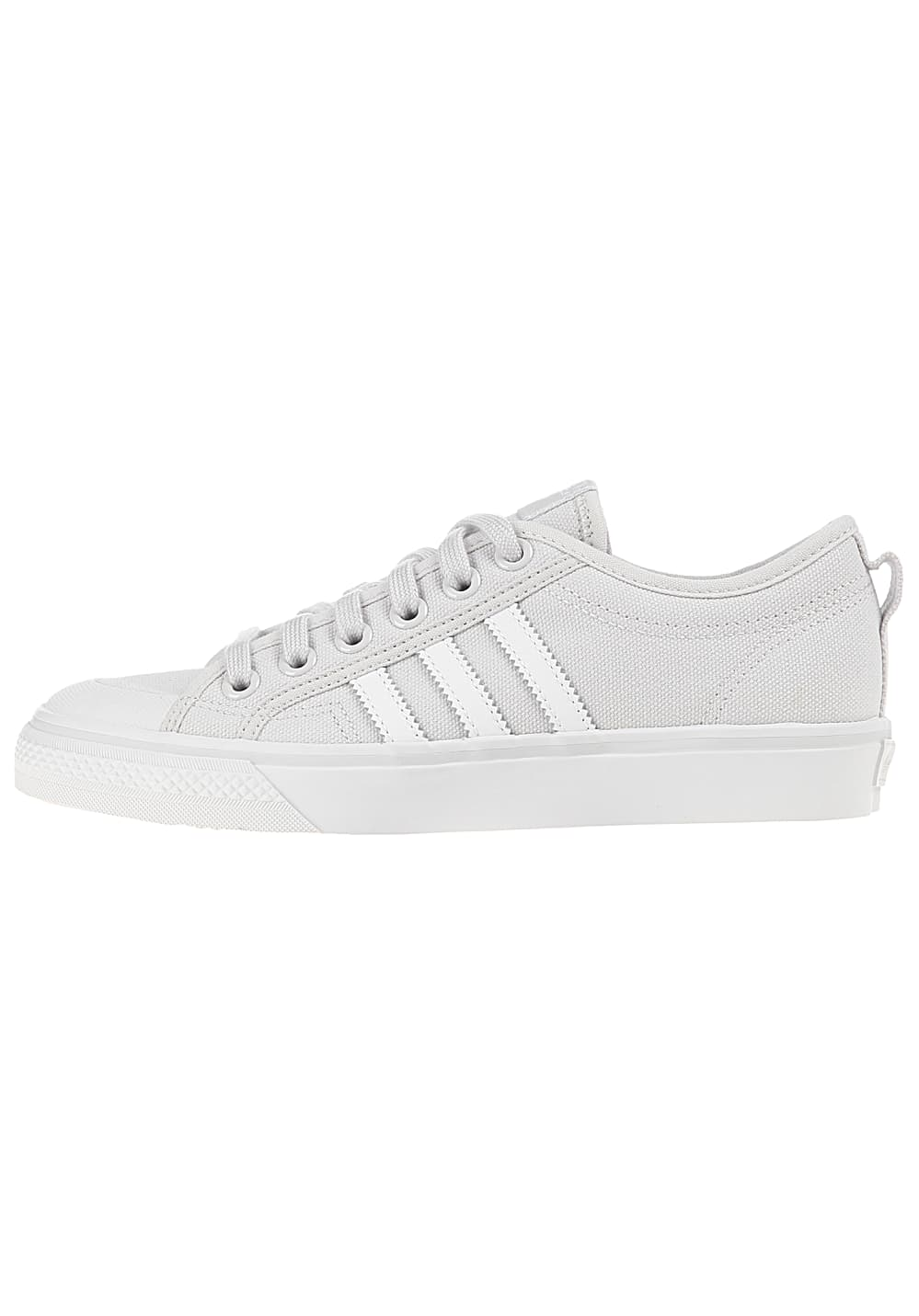 new lifestyle clearance sale classic shoes ADIDAS ORIGINALS Nizza - Baskets pour Femme - Gris - Planet ...