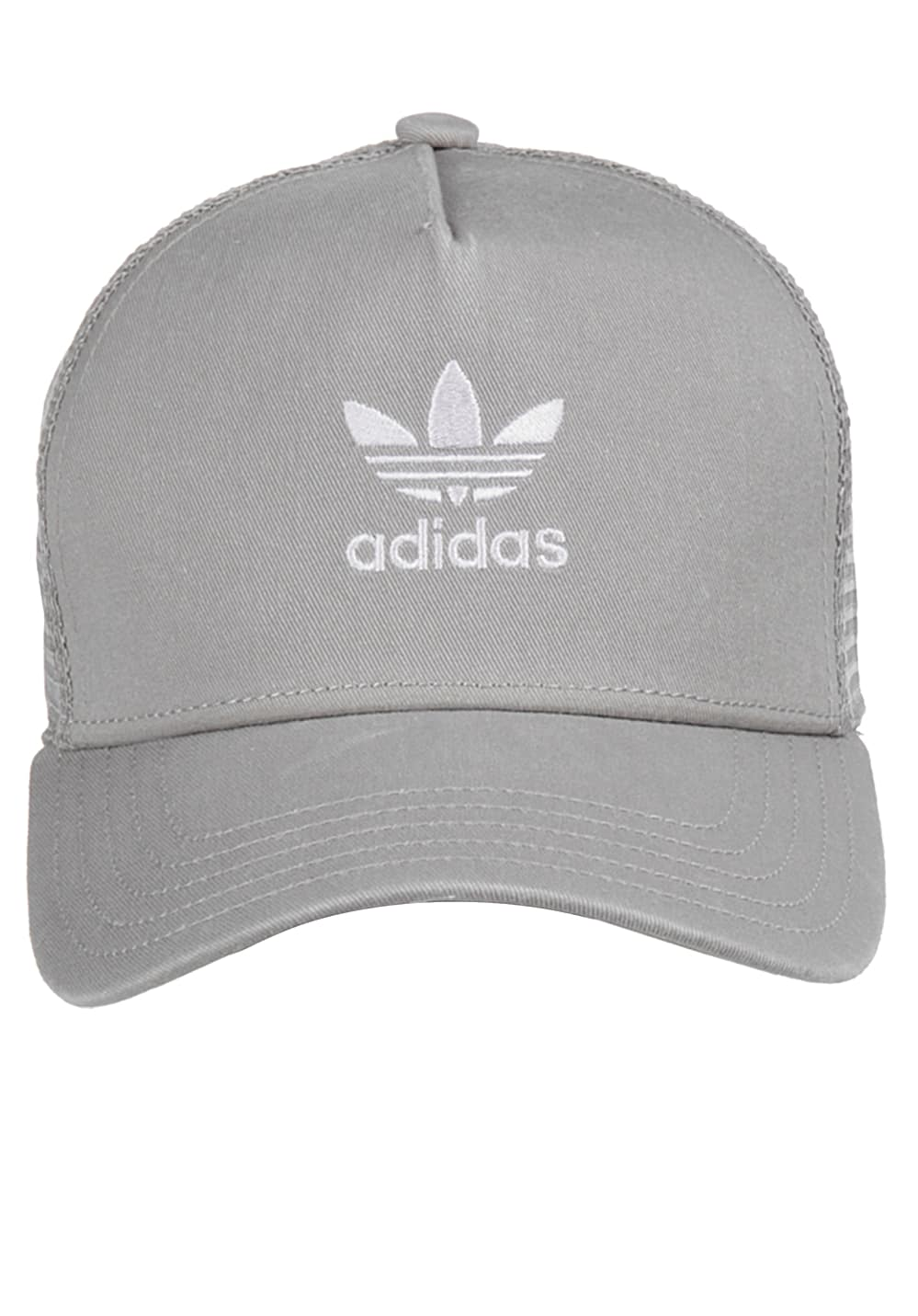 7ce77a33a ADIDAS ORIGINALS Trefoil - Trucker Cap for Men - Grey
