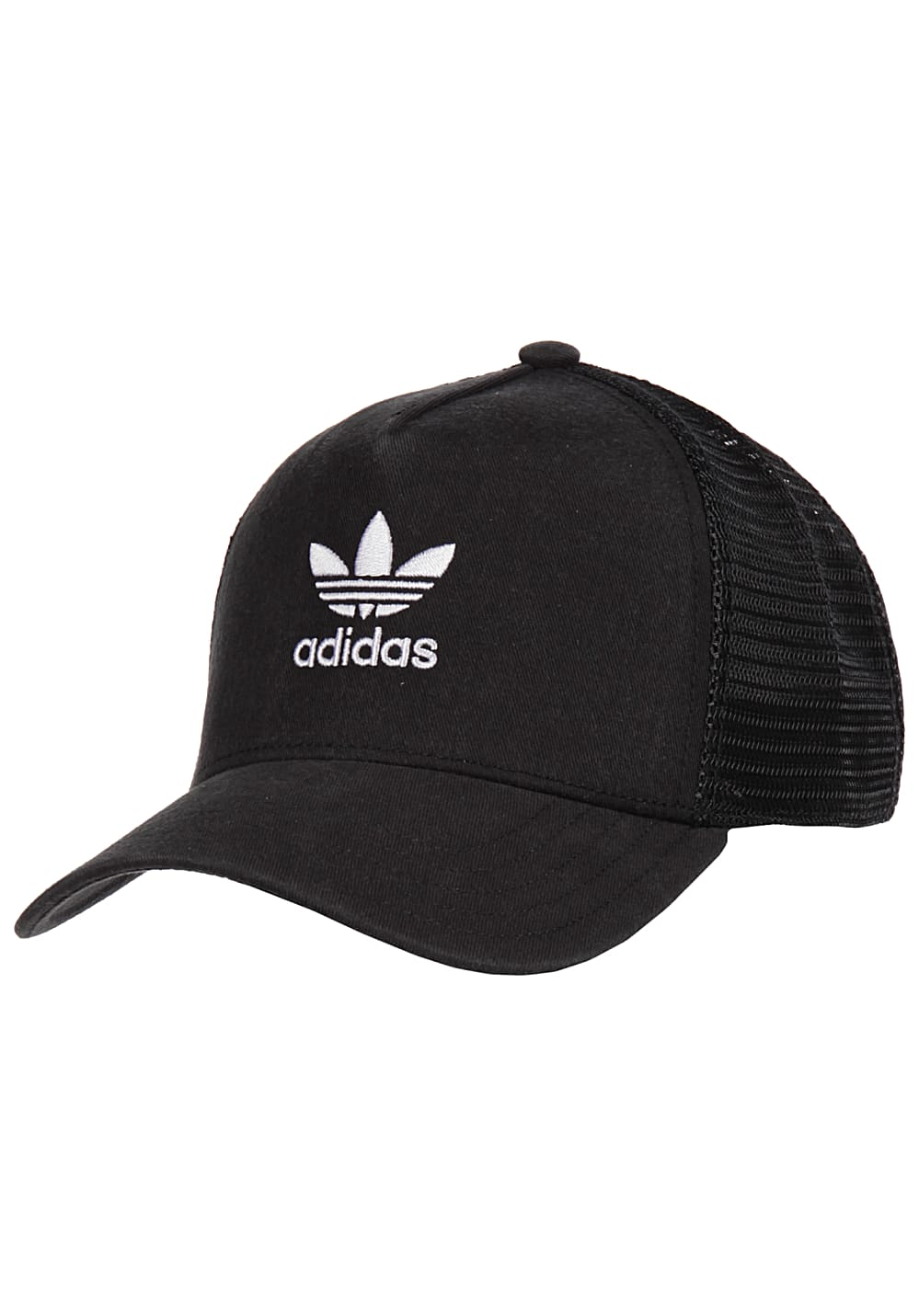 9212133290e2c ADIDAS ORIGINALS Trefoil - Trucker Cap for Men - Black - Planet Sports