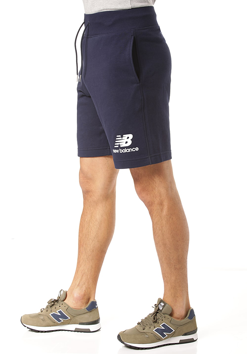 dba2e59edce5e Next. NEW BALANCE. Essentials Stacked Logo - Shorts for Men. €39.95. incl.