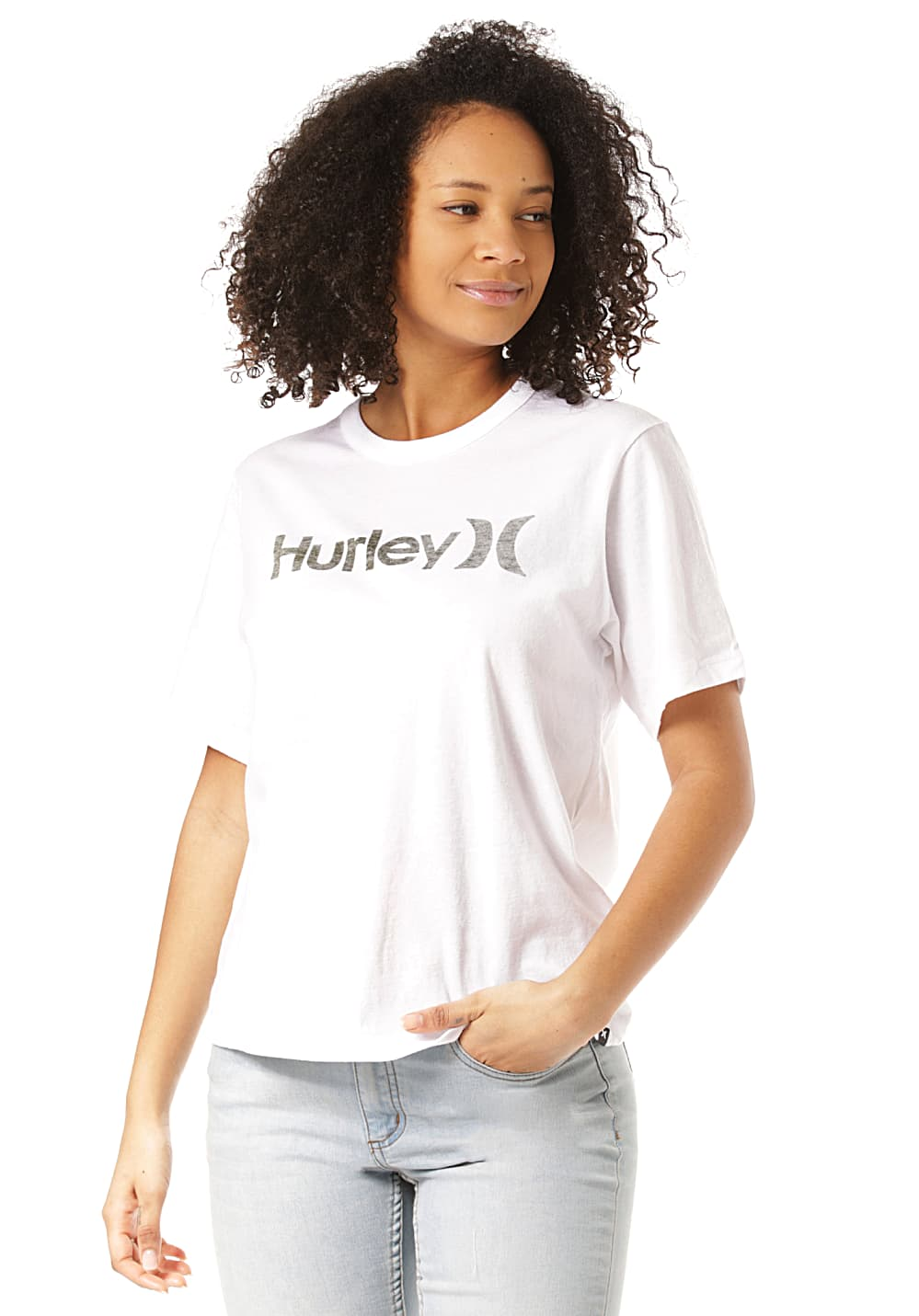 buy cheap info for official shop Hurley One & Only Push Through - T-Shirt for Women - White