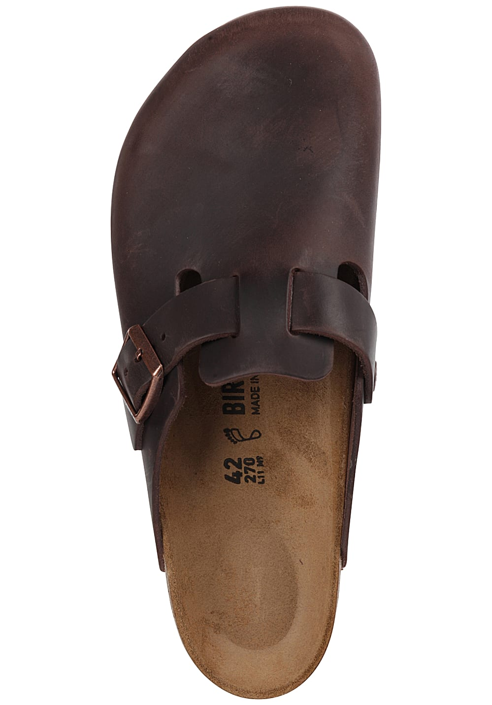 best website e95c7 383ff Birkenstock Boston - Sandali per Uomo - Marrone