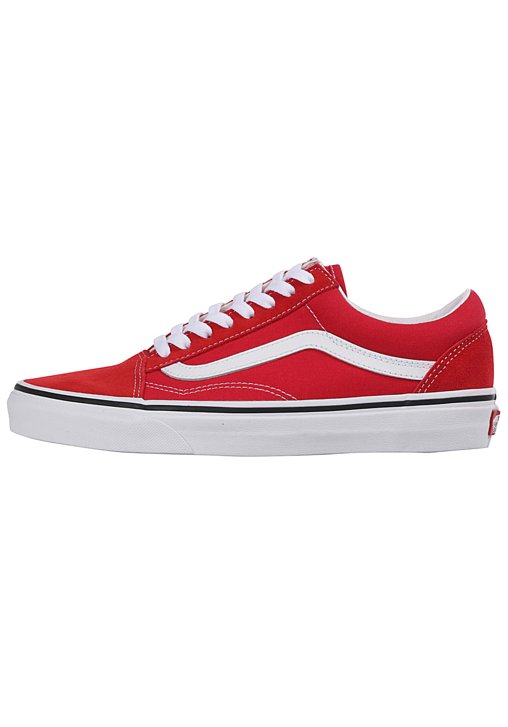 Vans Old Skool - Baskets pour Femme - Rouge
