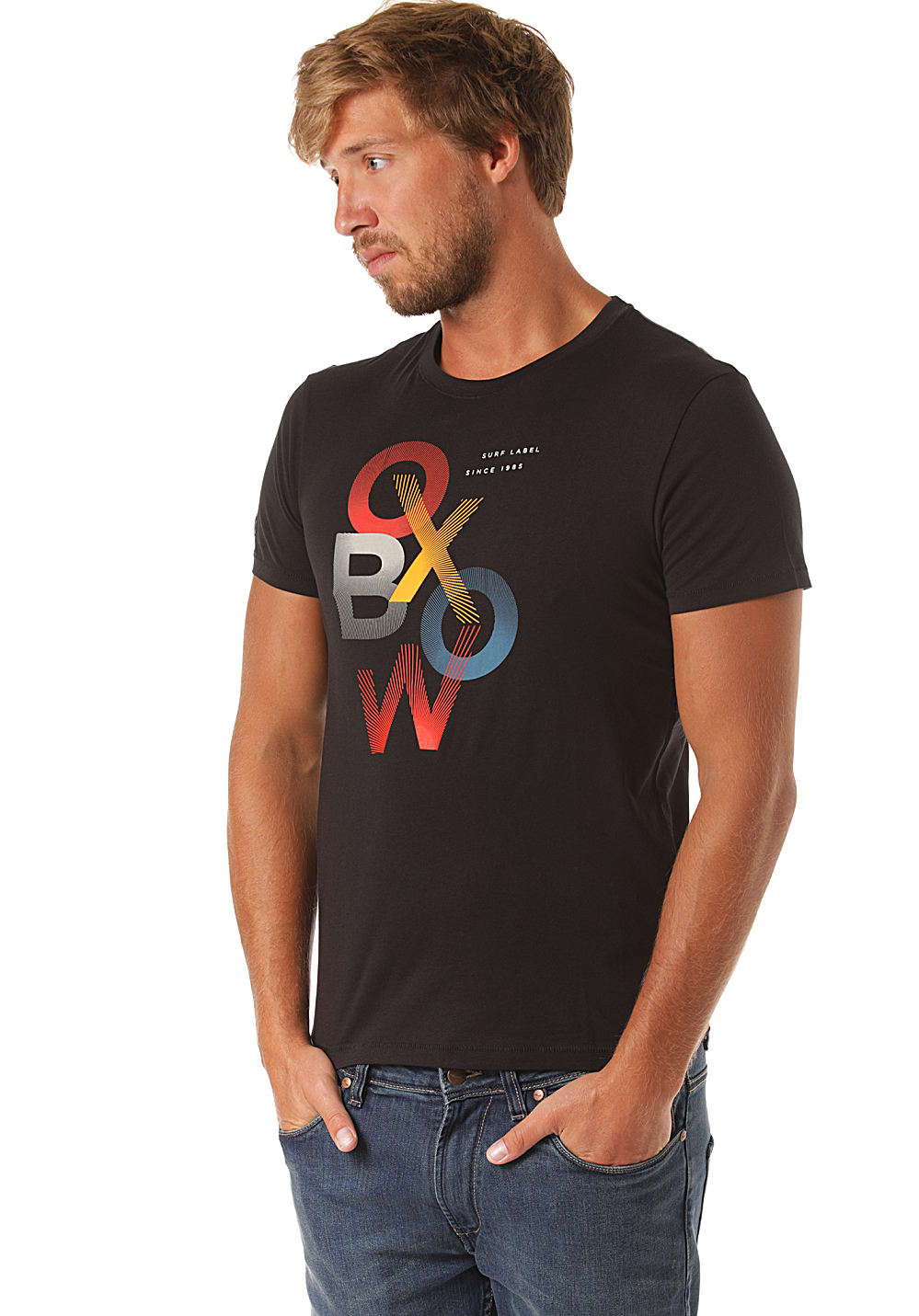 T-Shirt Homme Oxbow Tsuby