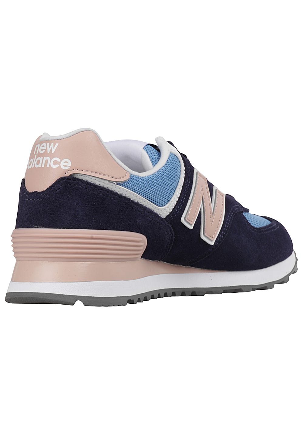 955fdcab32 NEW BALANCE WL574 - Sneakers for Women - Blue - Planet Sports