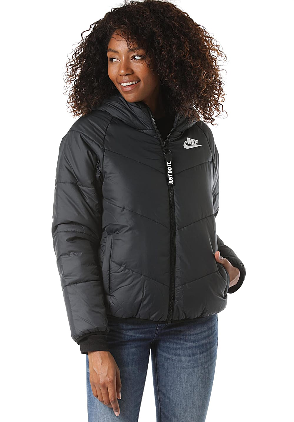 NIKE SPORTSWEAR Windrunner Syn Fill Chaqueta para Mujeres Negro