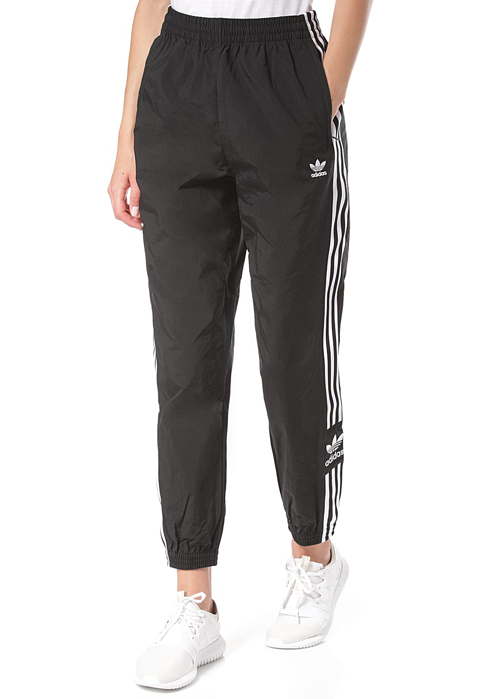 Women Up Trackpants Lock For Adidas Originals Black oedCxB