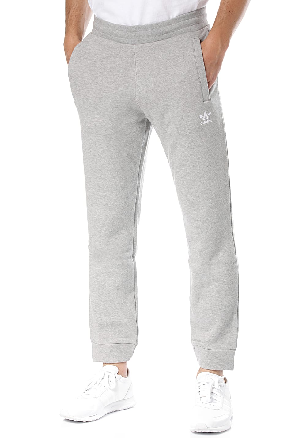 ADIDAS ORIGINALS Trefoil Trackpants for Men Grey
