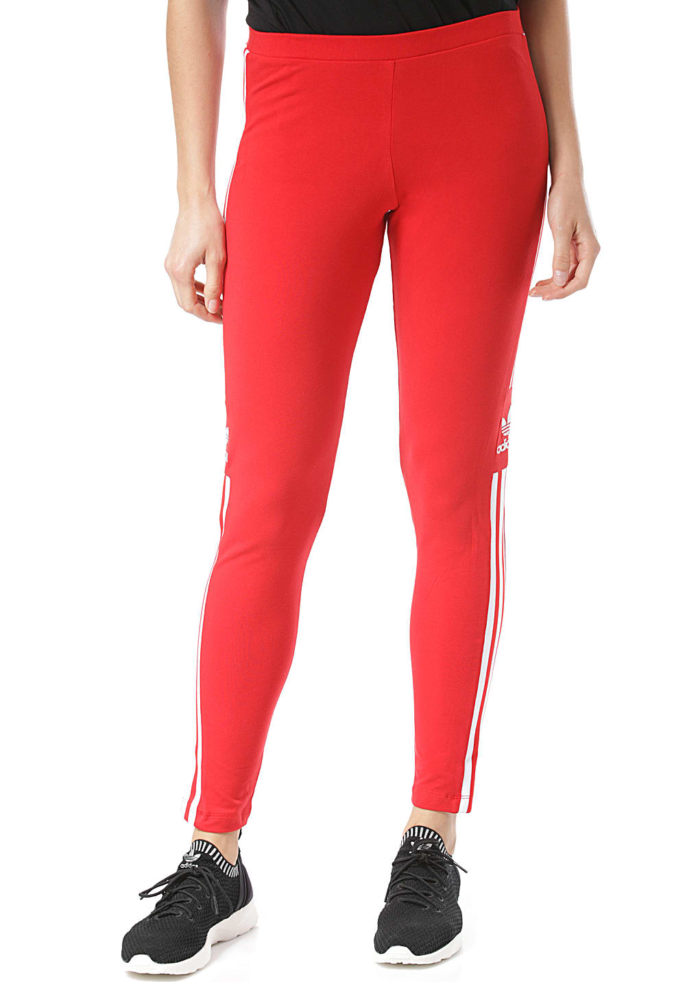 leggings adidas rouge
