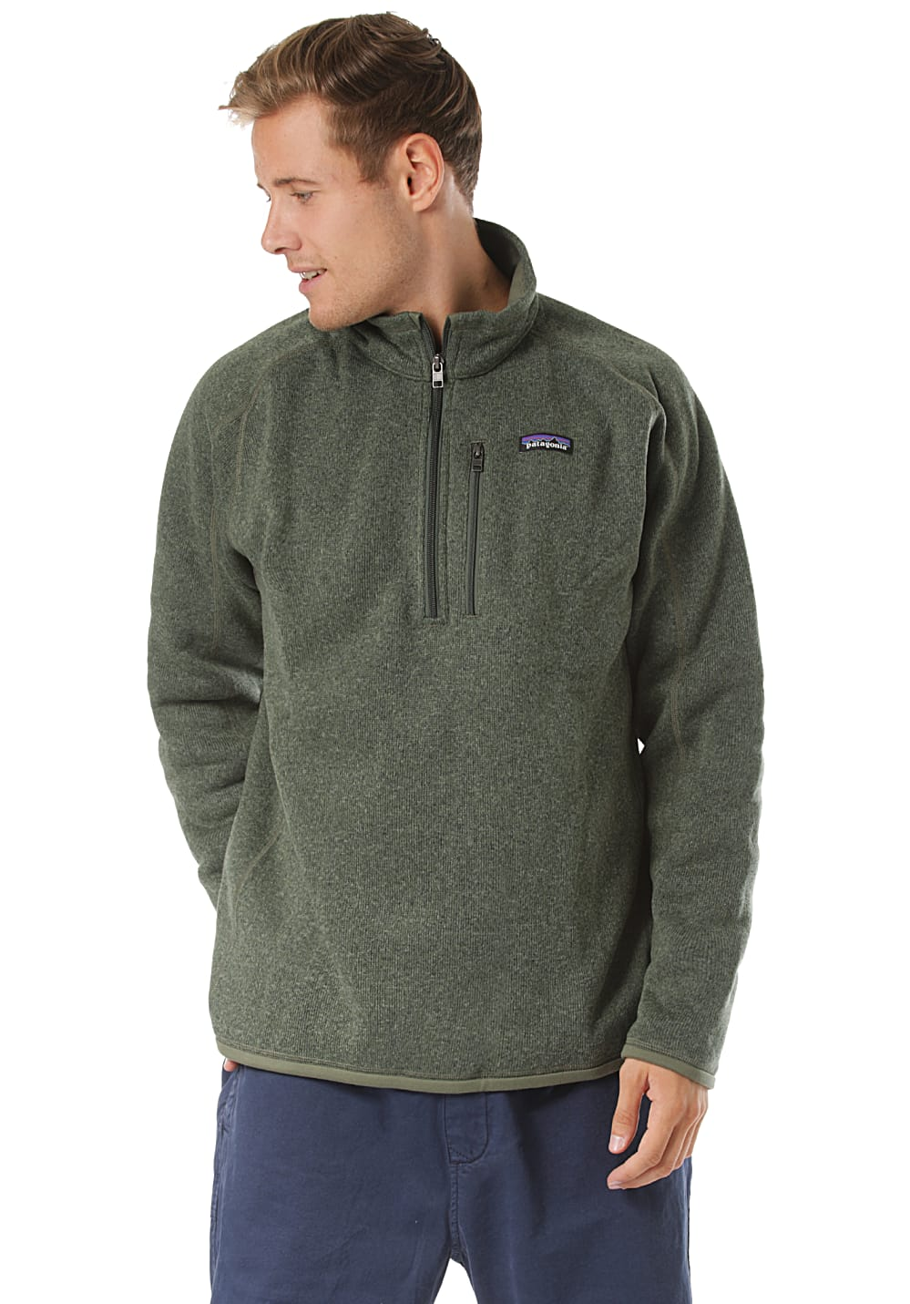 PATAGONIA Better Pull polaire pour Homme Vert Planet