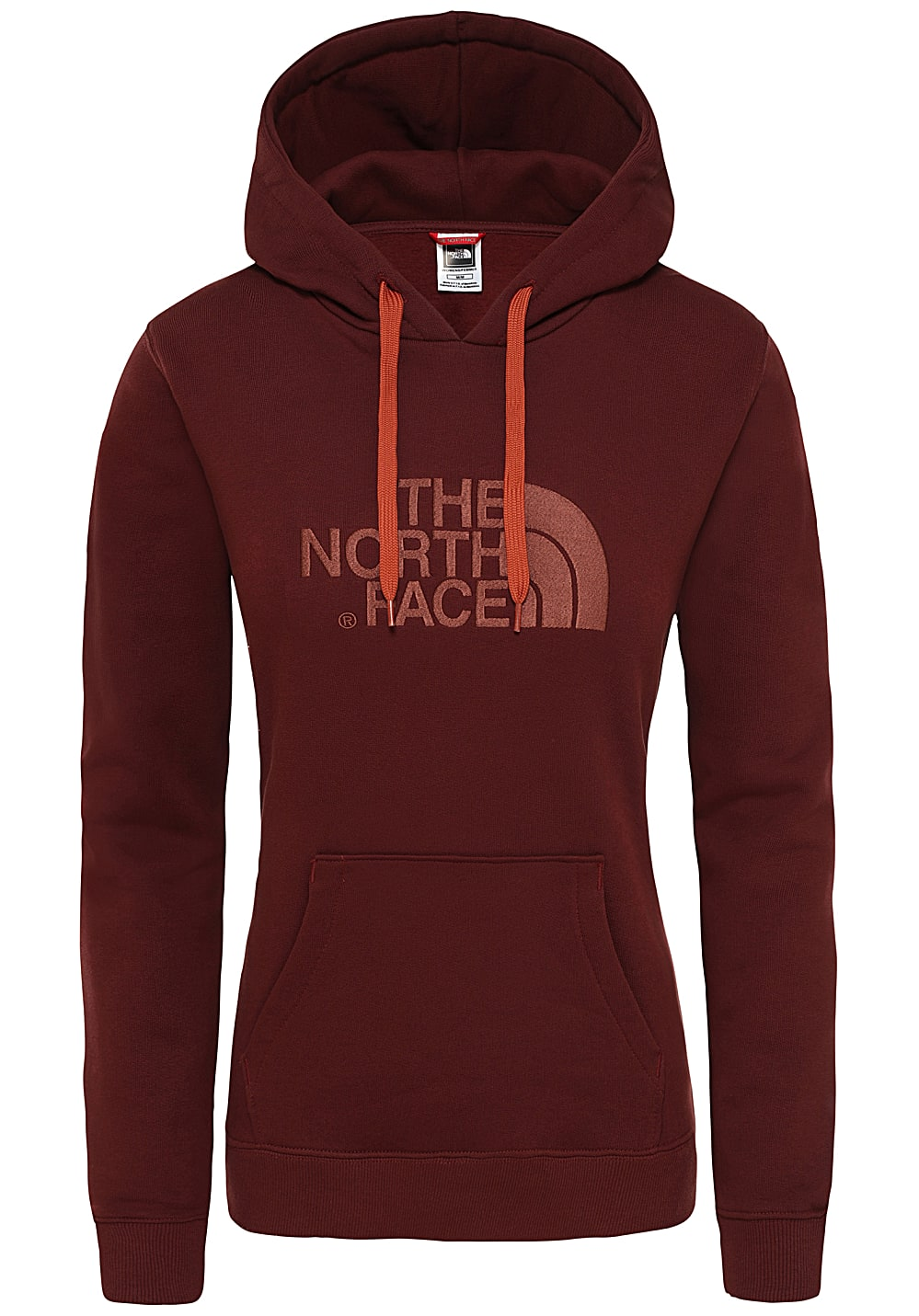 THE NORTH FACE Drew Peak Felpa con cappuccio per Donna Grigio